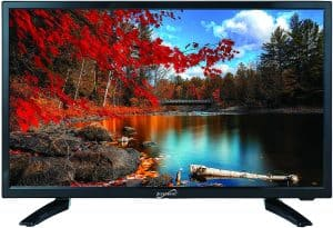 1. Supersonic TV Widescreen Best TV for RV Use