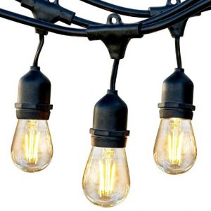 1. Water-repellent, Hanging, Dimmable Brightech Ambience Pro Outdoor LED Fairy Lights