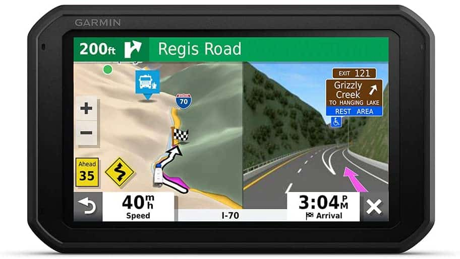 Garmin RV 785 with Built-in Dash Cam