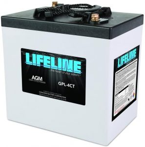 Lifeline Marine AGM Battery GPL-4CT