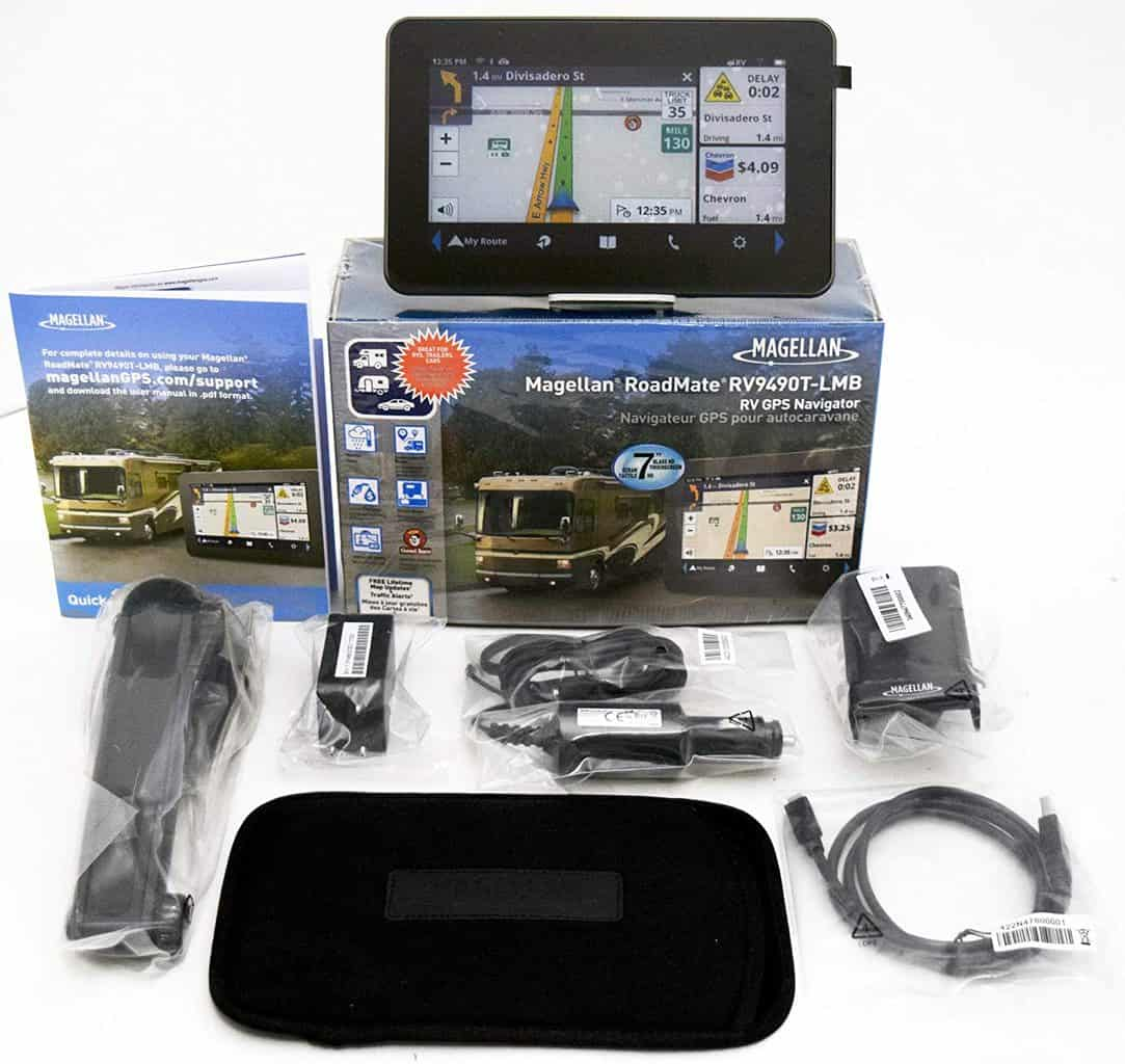 Magellan RV9490T 7″ High-Clarity RV GPS Navigator