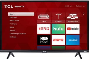 11. TCL 32S327 32-Inch 1080p Roku Smart LED TV
