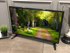 13. Free Signal TV Transit 12-Volt RV Flat Screen TV