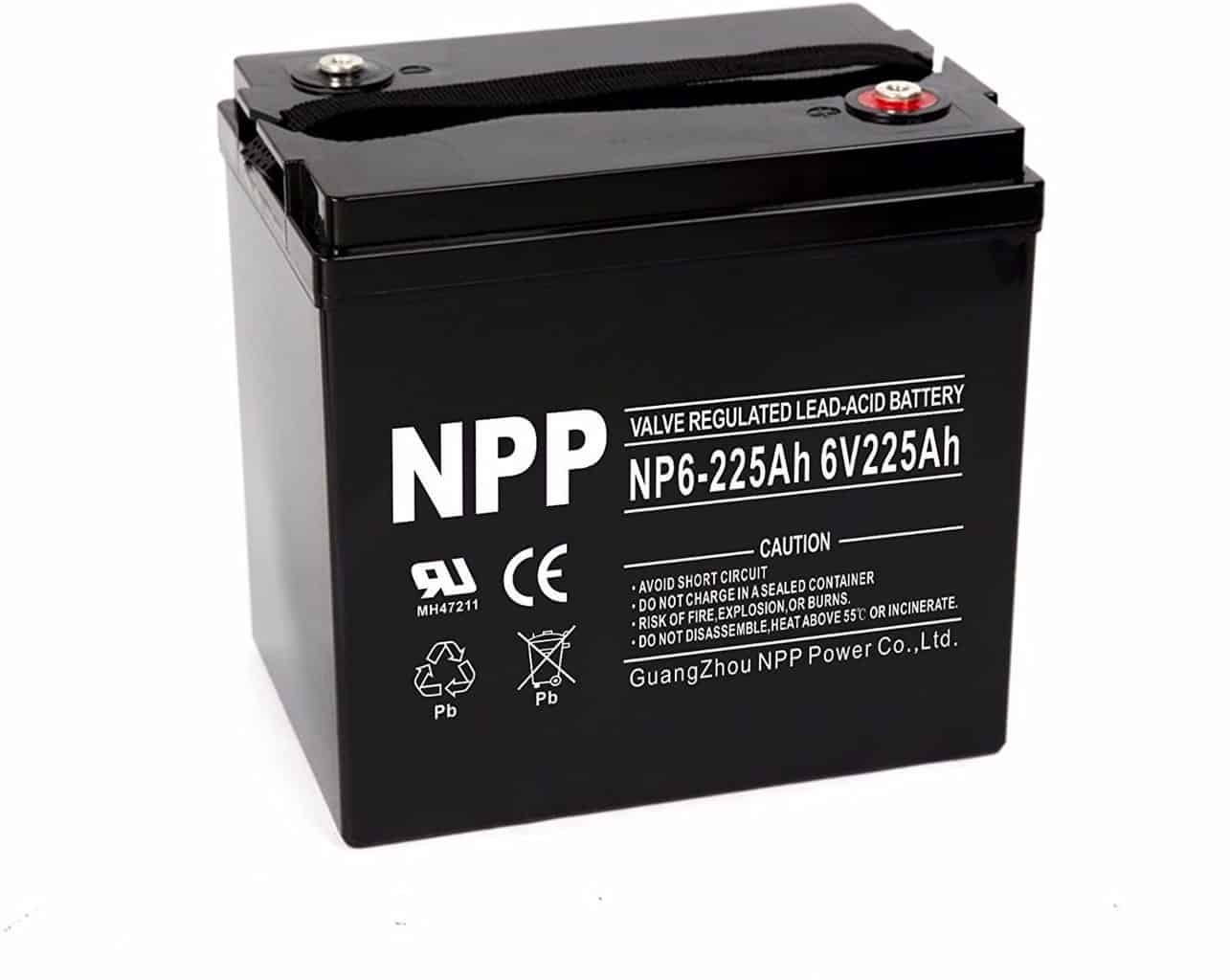 NPP AGM Deep Cycle Battery