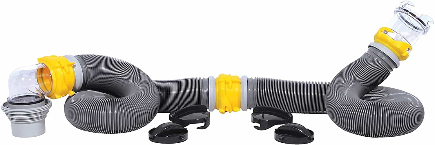 Camco 39658 Deluxe 20' Sewer Hose Pack