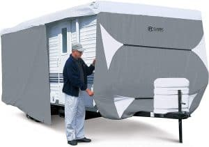 Classic Accessories 80-351-303101-RT Toy Hauler or Trailer Cover