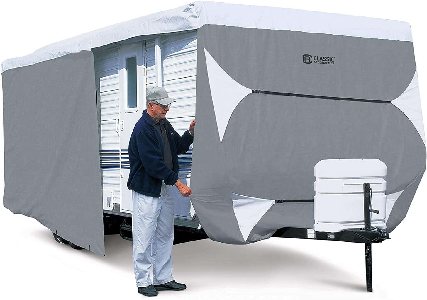 Classic Accessories 80-351-303101-RT Best Toy Hauler or Trailer Cover