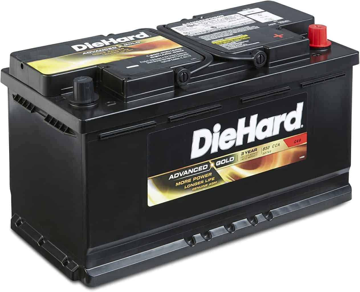 DieHard 38217 Advanced Gold Battery
