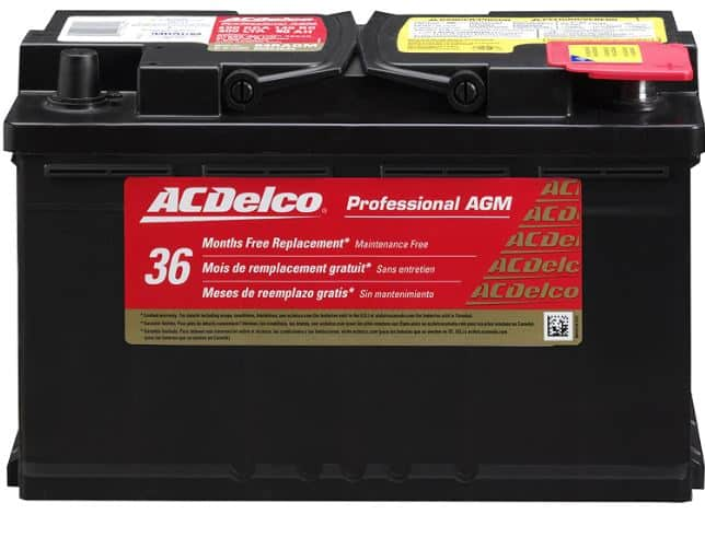 ACDelco 94RAGM RV battery