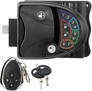 Rupse RV Lock Latch with Keypad and Fob