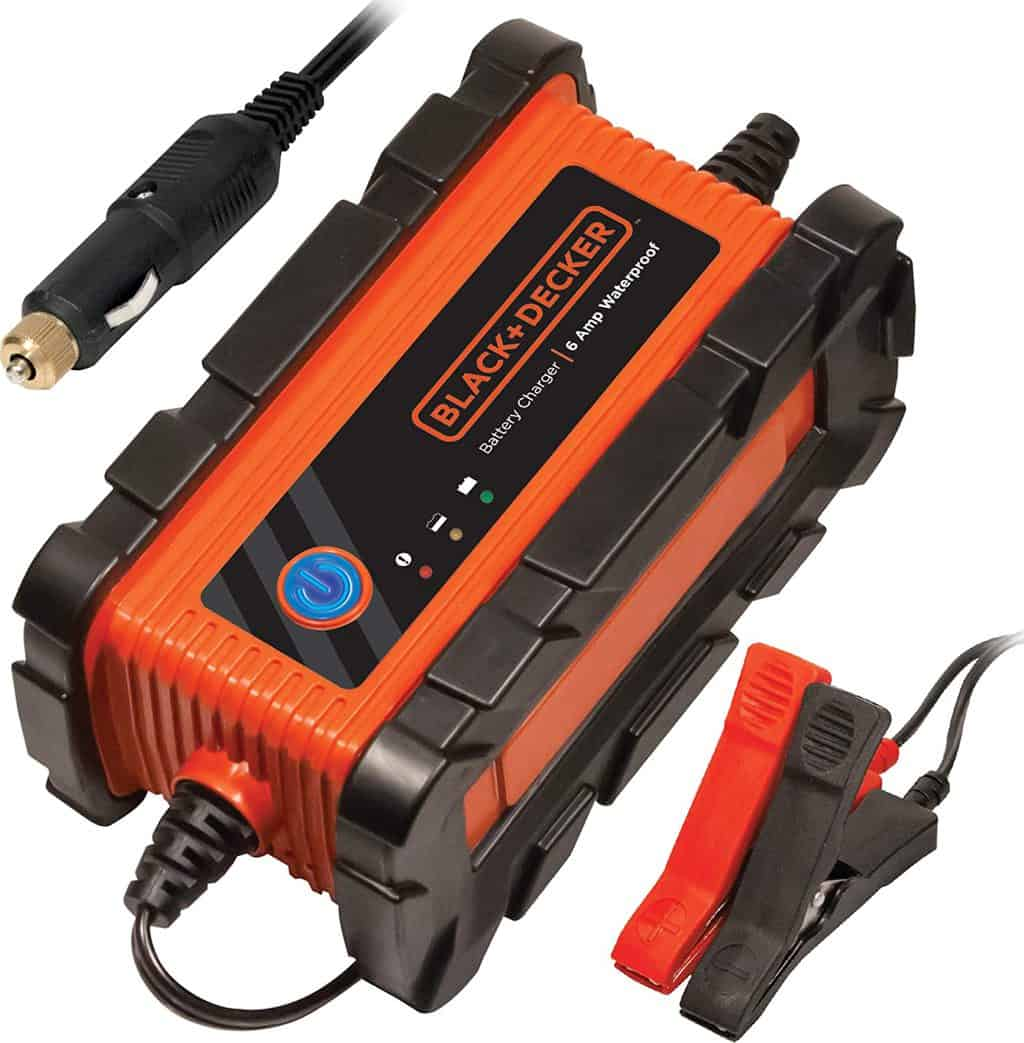 17. Black+Decker Fully Automatic Waterproof Battery Charger