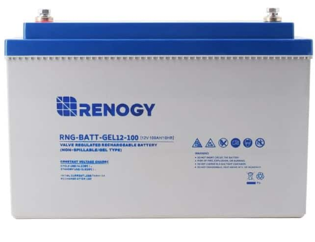 Renogy Deep Cycle  Pure Gel RV battery