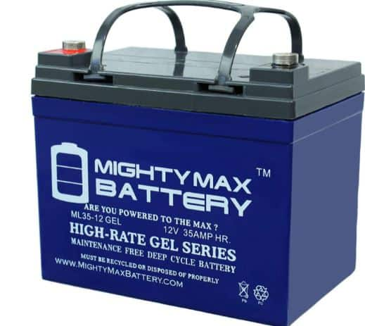 Mighty Max Gel Replacement Battery for Deep Cycle Solar