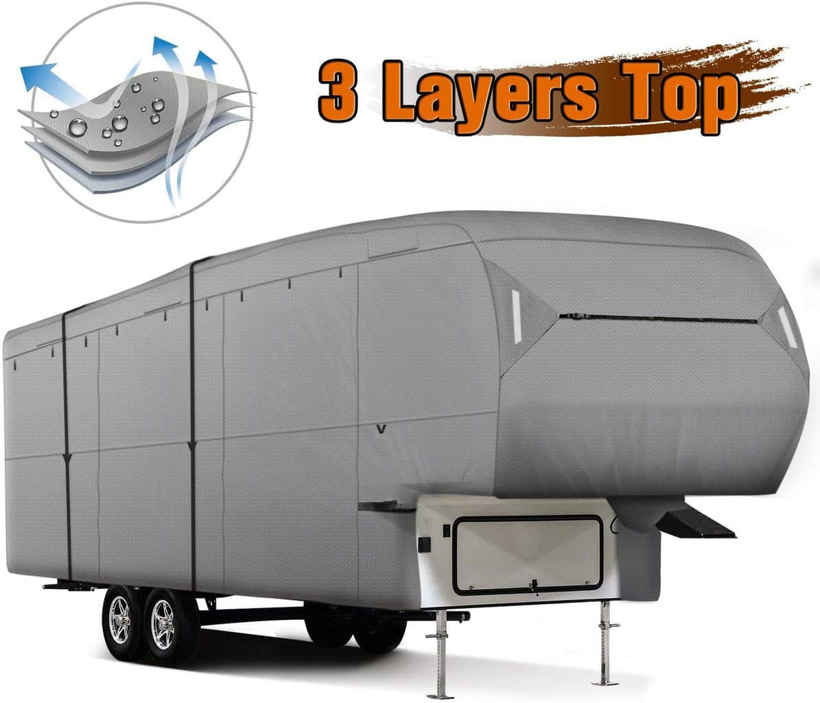 XGEAR Fifth Wheel Thick Best Cover