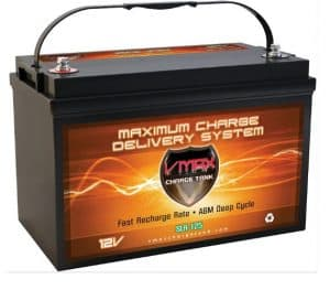 Vmaxtanks VMAXSLR125 SLA Rechargeable Deep Cycle Battery