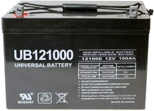 Universal Deep Cycle AGM Battery