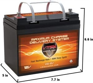 VMAX857 AGM Marine Deep Cycle Battery