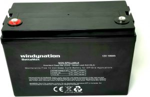 WindyNation AGM Deep Cycle Lead-acid Battery