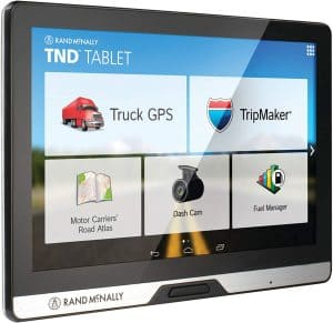 8. Rand McNally 528013076 Intelliroute 8-inch TND Tablet