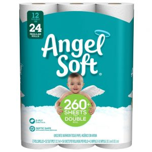 10. Angel Soft Toilet Paper