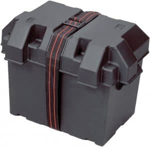 12. Powerhouse 13035 Dual 12-V Battery Box