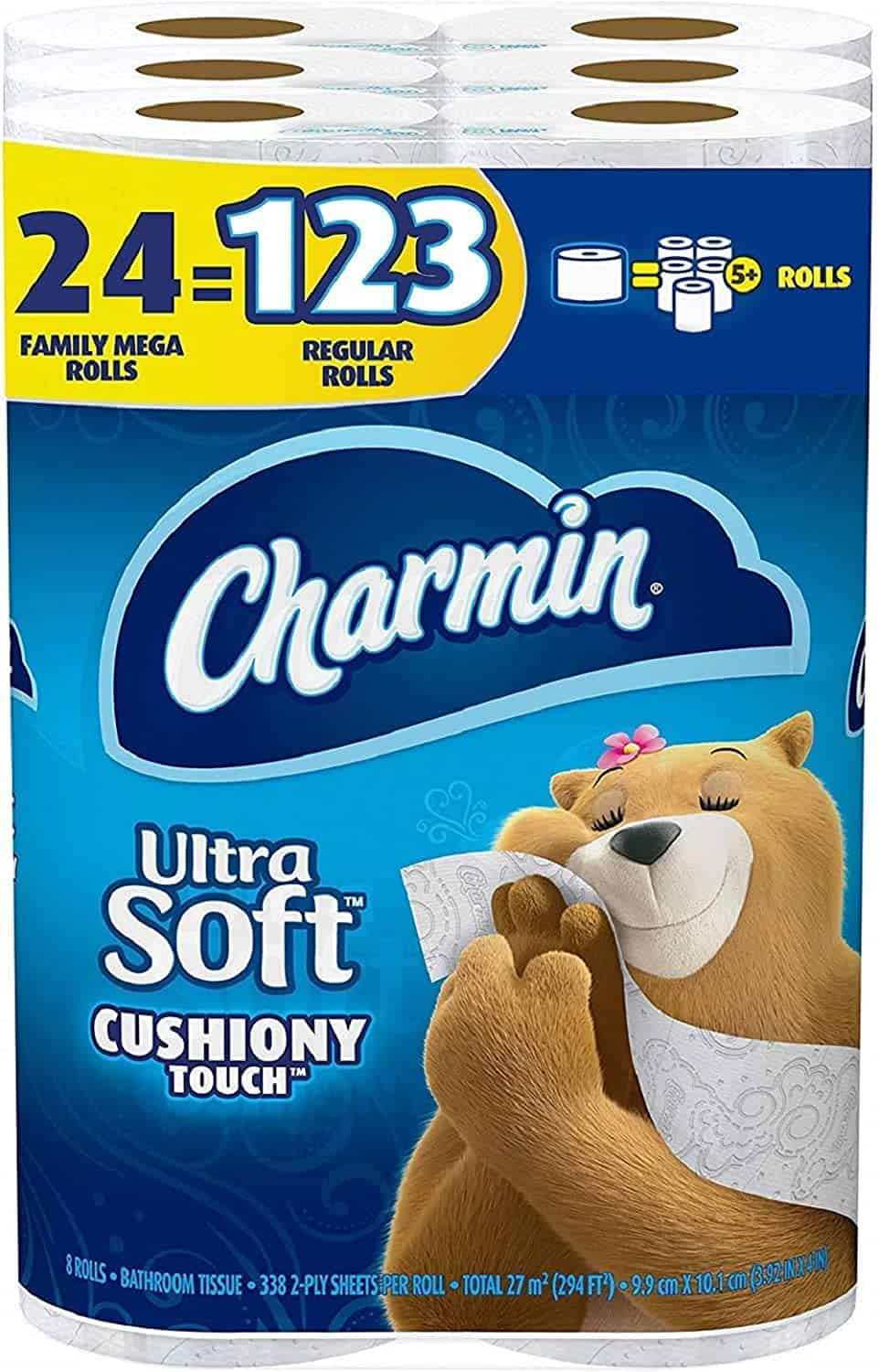 Charmin Soft Cushiony Touch Toilet Paper