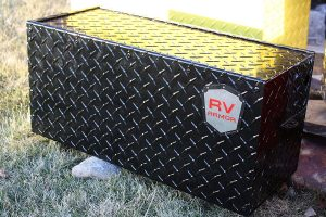 4. RV Armor Battery Lock Box