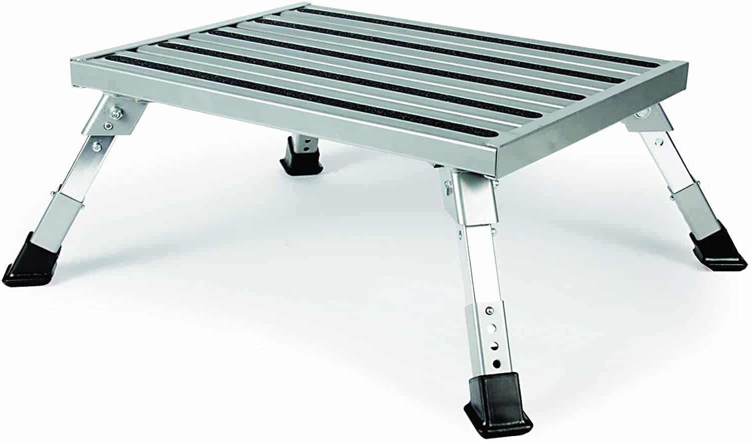 9. Camco Adjustable Aluminum Platform