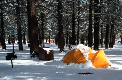 Group tent sites