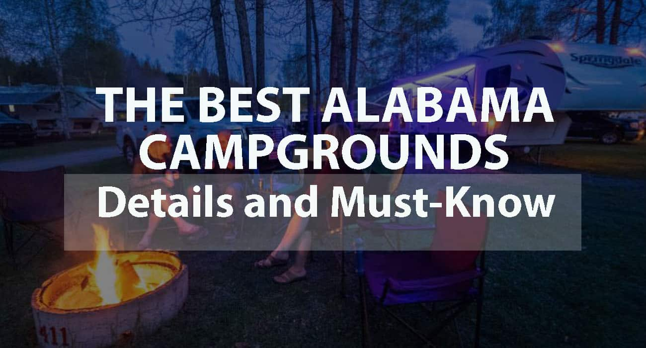 The Best Alabama Campgrounds: Details and Must-Know