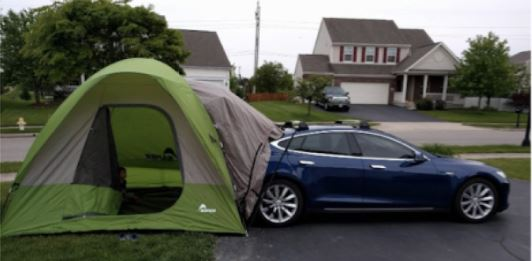 Vehicle Tent Lodging