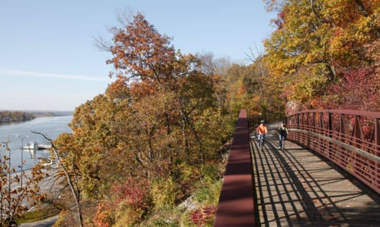 Visiting the Pere Marquette State Park