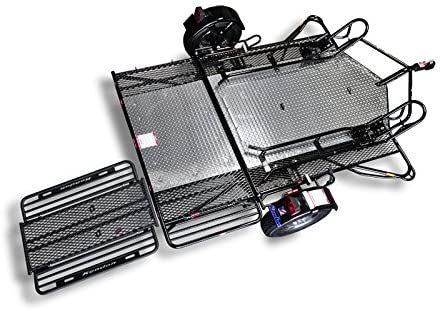 6. Kendon Stand-Up Dual Ride-Up SRL Motorcycle Trailer