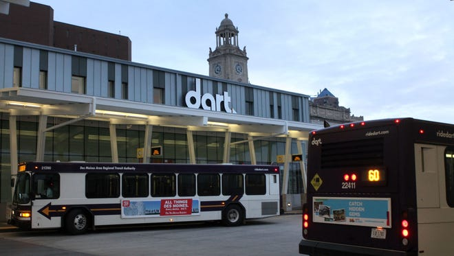 Dart State Fair Garage and Ride Buses