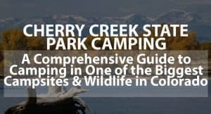 Cherry Creek State Park Camping: A Comprehensive Guide to Camping in One of the Biggest Campsites and Wildlife in Colorado