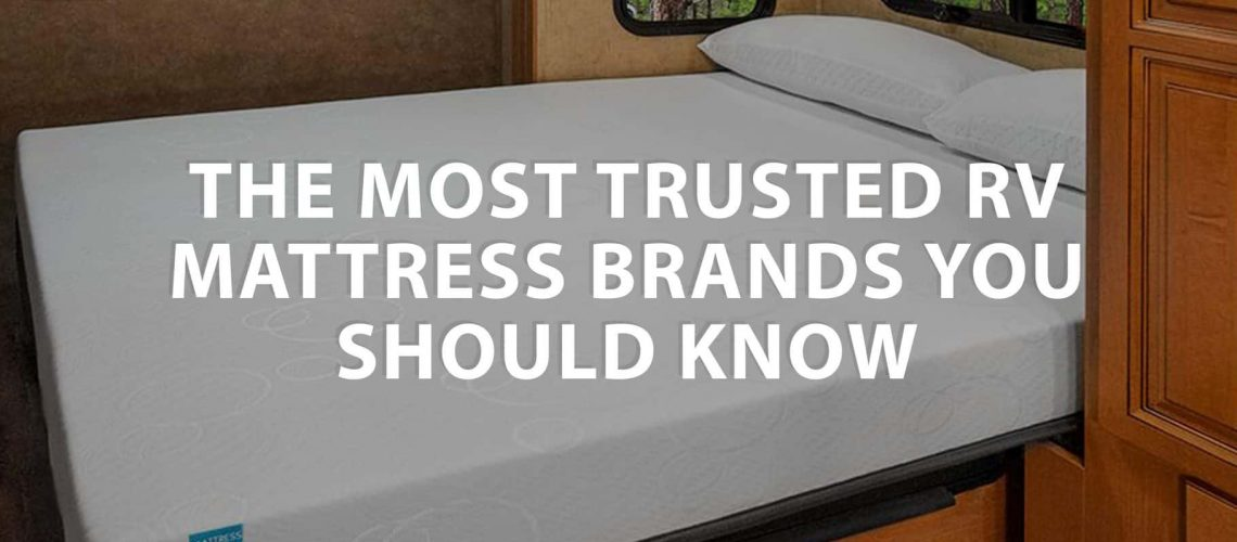 featured image on The most trusted RV Mattress brands you should know